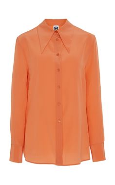23ec432c14 Silk Button Front Blouse by M MISSONI for Preorder on Moda Operandi You re  Beautiful