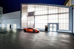 Archilinea — Ristorante Aziendale Lamborghini