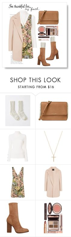 """""""Pastel"""" by doragal ❤ liked on Polyvore featuring Michael Kors, See by Chloé, Topshop, Theory, Alexander Wang, Charlotte Tilbury and Burberry"""