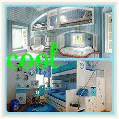 Cool bunk beds!!!! :-)