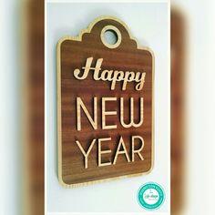 Letrero Happy New Year
