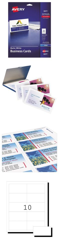 202 Best Avery Business Cards Images In 2019 Avery Business Cards