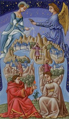 The World - Medieval Tarot