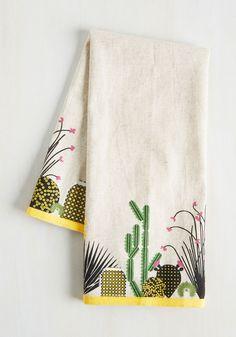Houseplant the Idea Tea Towel, #ModCloth