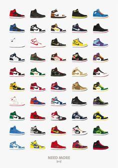 List Chart of all the Jordan s Air Jordan 1-23 + dub zeros  ccc87dc65