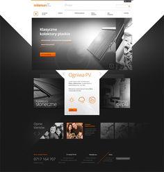 solarsun Web Design #ux #ui #web #design #inspiration #creative #branding #marketing #ideas #jablonskimarketing