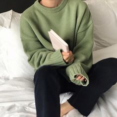 Korean Aesthetic, Aesthetic Colors, Aesthetic Clothes, Aesthetic Green, Japanese Aesthetic, Aesthetic Sweaters, Aesthetic Outfit, Aesthetic Pastel, Aesthetic Collage
