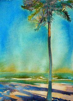 'Sun of A Watercolor'-Carol Carter Watercolor