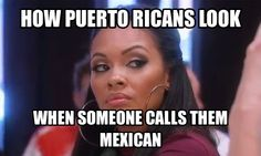 How Puerto Ricans look...