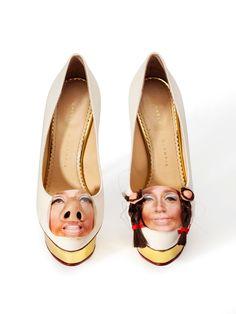 Step Up! - Cindy Sherman Charlotte Olympia Shoe