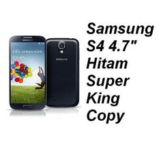 "Samsung S4 4.7"" inch Super King Copy Black Rp 870.000,-   Pin BB : 7D0D1612   Sms : 087782150659"