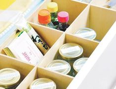 How to make a drawer divider