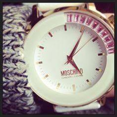 Photo by pippalaurel  #moschino #mymoschino #watch #cheapandchic