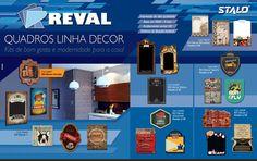 #Quadros #LinhaDecor #Stalo Kits de bom gosto e modernidade para sua casa! #KitsDecor #Cerveja #Coffee #Menu #Gourmet #Cinema #Sports #Recados e muito mais!