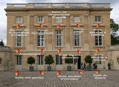 Plans du Petit Trianon