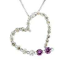 Heart pendant perfect for Valentine's Day by Suncrest Diamonds #suncrest