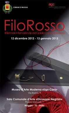 FiloRosso Muggia Italy exhibitions 2013