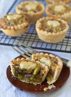 Mini Honey Pistachio Pies