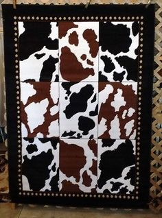 8X11, 6X8, Or 3X4 Cow Print Cowboy Country Western Cabin Lodge Area Rugs  Carpets