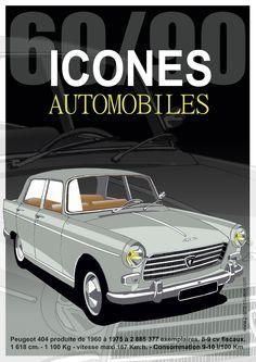 404 PEUGEOT Peugeot 404, Psa Peugeot Citroen, French Classic, Classic Cars, Retro Cars, Vintage Cars, Peugeot France, Automobile, Vw Mk1