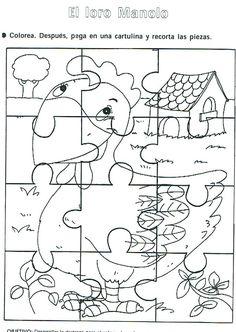 RECURSOS | Rompecabezas para colorear ~ La Eduteca