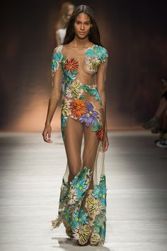 Blumarine womenswear, spring/summer 2015, Milan Fashion Week