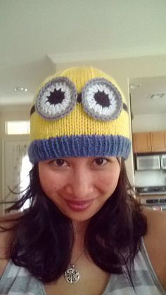 Ravelry: Minion Beanies pattern by Sundae's Shop