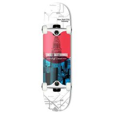 Tricks Subway Complete Skateboard - 7.75 inch Width: 7.75 inches