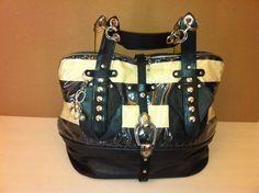 Large Tote/Duffle Bag, leather handbag
