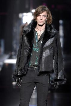 $11 550 NEW Roberto Cavalli Leather Shearling Beaver FUR Jacket 56 46 | eBay