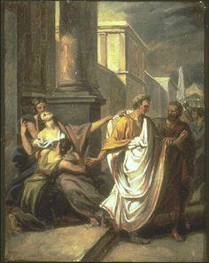 César se rendant au sénat aux Ides de Mars