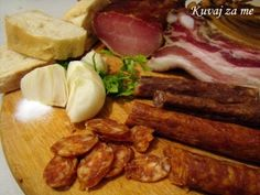 Home made sausage Home Made Sausage, Tasty, Yummy Food, Main Dishes, Cooking Recipes, Beef, Homemade, Meals, Chicken
