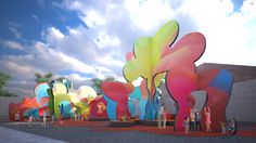Bustler: Pita & Bloom's BALLOON FRAME, finalist entry for MoMA PS1 YAP 2014