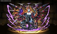 Divine Queen Hera stats, skills, evolution, location | Puzzle & Dragons Database