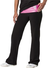 Shimmer Yoga Pant with <3 Cheer on the back!