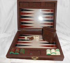 Backgammon.  Board Game.