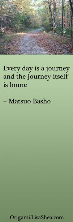 Journey is Home