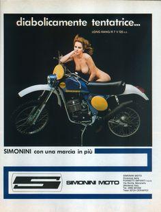 Pubblicità moto Simonini da Motociclismo di Dicembre 1962