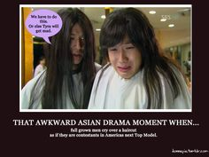 """Awww... they were all so upset, I didn't know whether to laugh at them or cry with them. ;)  (""""Rooftop Prince"""")"""