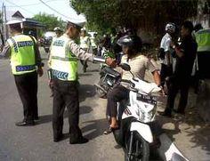 Tak Kapok, Puluhan Pengendara Kembali Terjaring Razia
