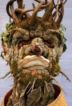 """Philip Haas """"El invierno"""" (2010) a partir de Arcimboldo http://harteconhache.blogspot.com.es/2013/04/arcimboldo-el-biologo.html"""