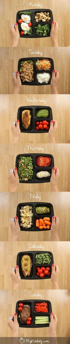 To remain healthy, you've to eat healthily! But you can do if you're busy or eat outside? Here are the 7 DAYS meal preparation ideas to look at!
