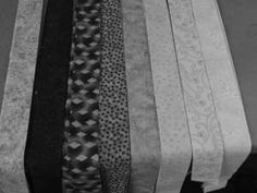 Choosing fabric for bargello quilts - Colour Strata Photo 2