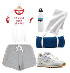 """""""Vintage Workout"""" by filthyriot on Polyvore featuring Camp Collection, Reebok, Patagonia, vintage, women's clothing, women, female, woman, misses and juniors"""