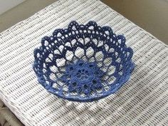 Turkish Crochet Stitch Free Pattern & Video Tutorial This truly awesome crochet filigree bowl is a quick and delightful project. Crochet Stitches Free, Crochet Basics, Thread Crochet, Crochet Motif, Crochet Doilies, Crochet Yarn, Free Crochet, Crochet Elephant, Elephant Applique