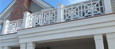 balcony rail detail
