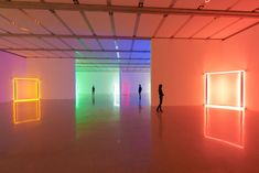 Exhibition view Dan Flavin – Lights, mumok. The Estate Collection David Zwirner. Photo: mumok© Stephen Flavin/VBK Wien, 2012.