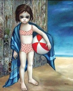 """""""Beach Ball"""" ~ Margaret Keane"""