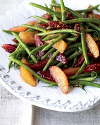 Green Bean-and-Blood Orange Salad Recipe from Food & Wine