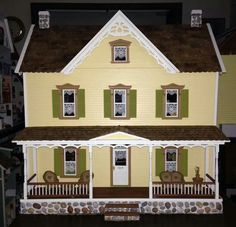 New Concept Collection Vermont Farmhouse Dollhouse (Kit by Real Good Toys)!
